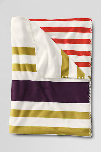 Stripe Fleece Throw