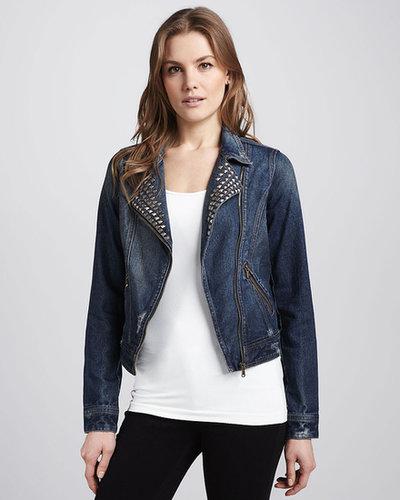 Glamorous Studded Denim Jacket