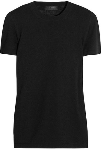 Calvin Klein Collection Wool-blend T-shirt