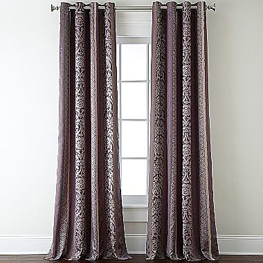 Royal Velvet® Maison Grommet-Top Curtain Panel