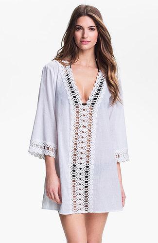La Blanca Crochet Trim Cover-Up