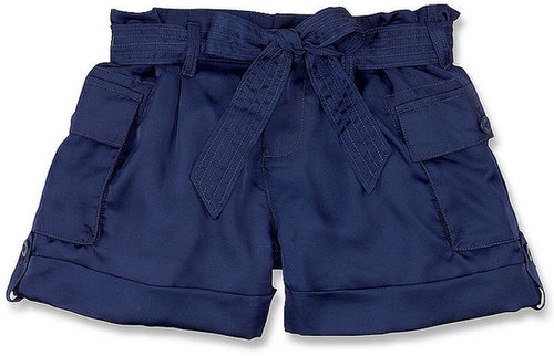 Ralph Lauren Kids Shorts, Girls Satin Cargo Shorts