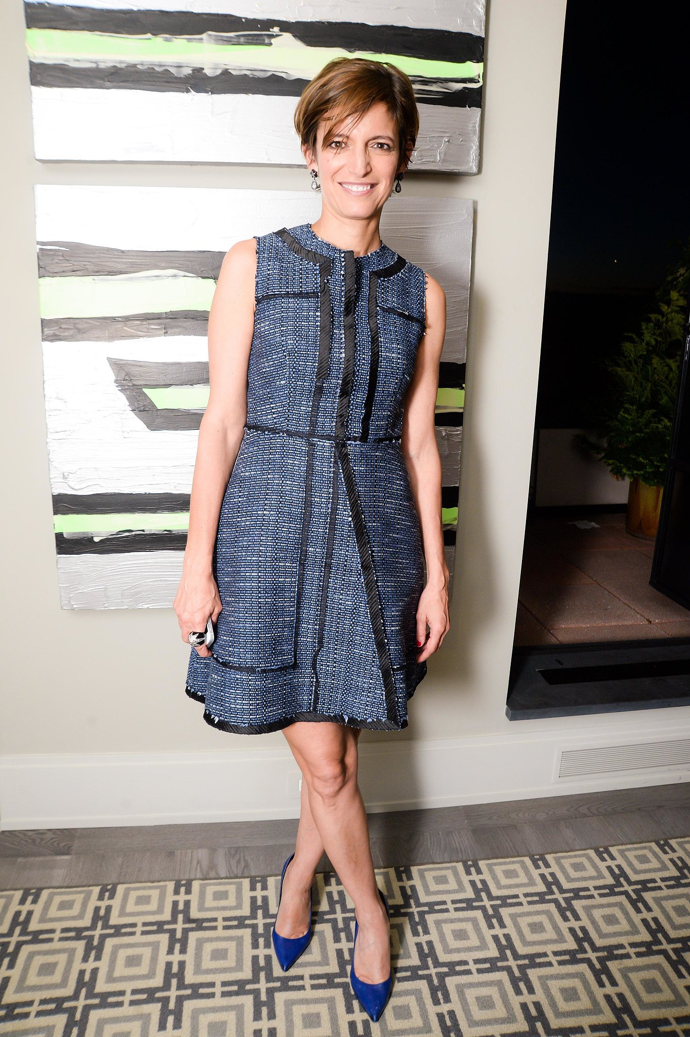 Cindi Leive at a party celebrating Proenza Schouler's First Collection capsule for Barneys in New York. Source: Joe Schildhorn/BFAnyc.com