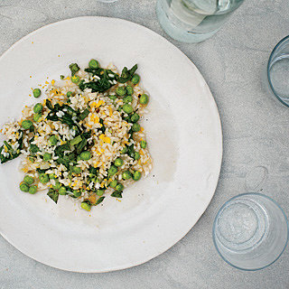 Risotto With Peas + Greens