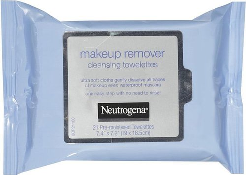 Neutrogena Makeup Remover Cleansing Towelettes 21 Ct