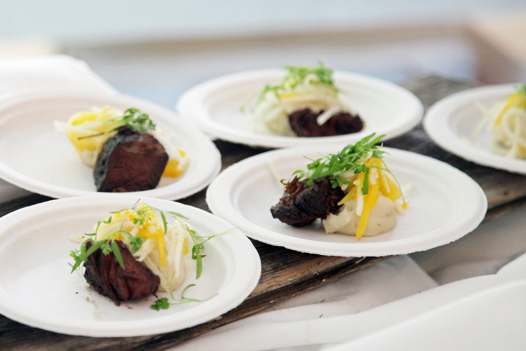 Braised Short Ribs With Caribbean Slaw