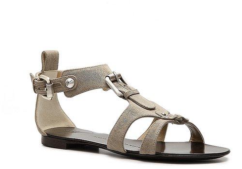 Giuseppe Zanotti Fabric Buckle Sandal