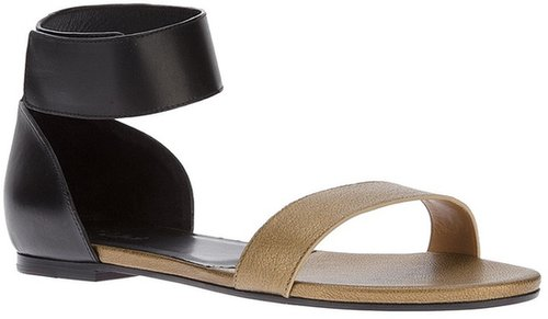 Chloé colour block sandal