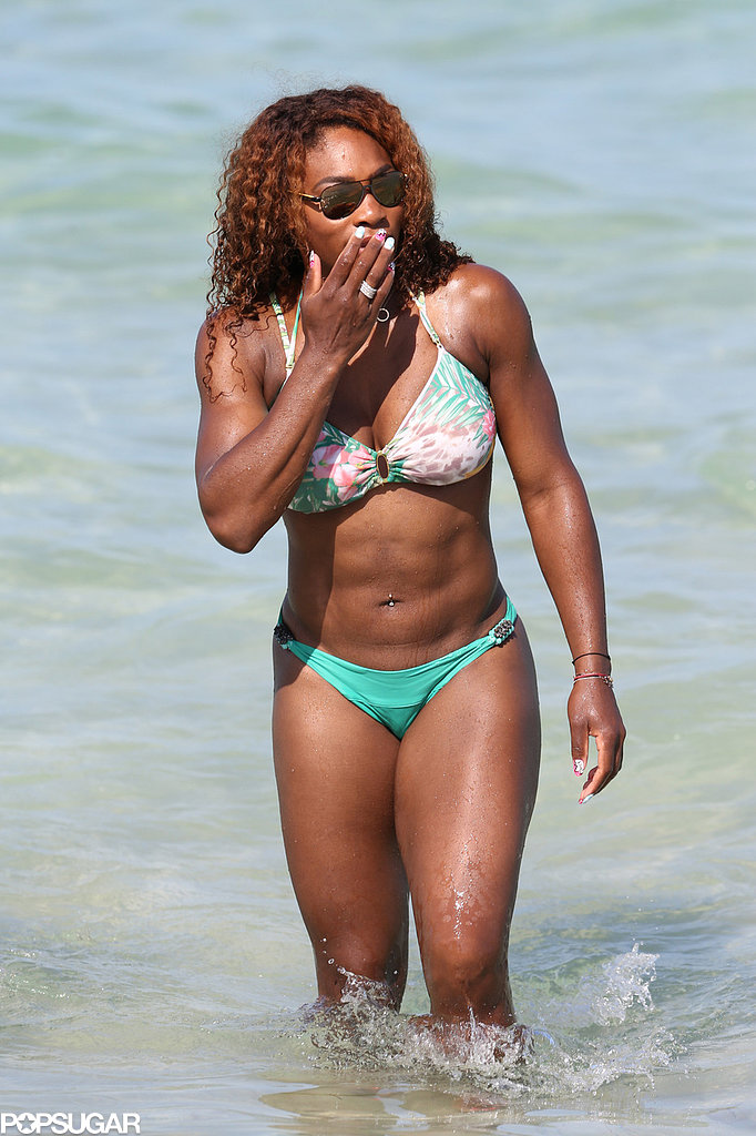 Serena Williams Takes a Bikini Break Following French Open Win