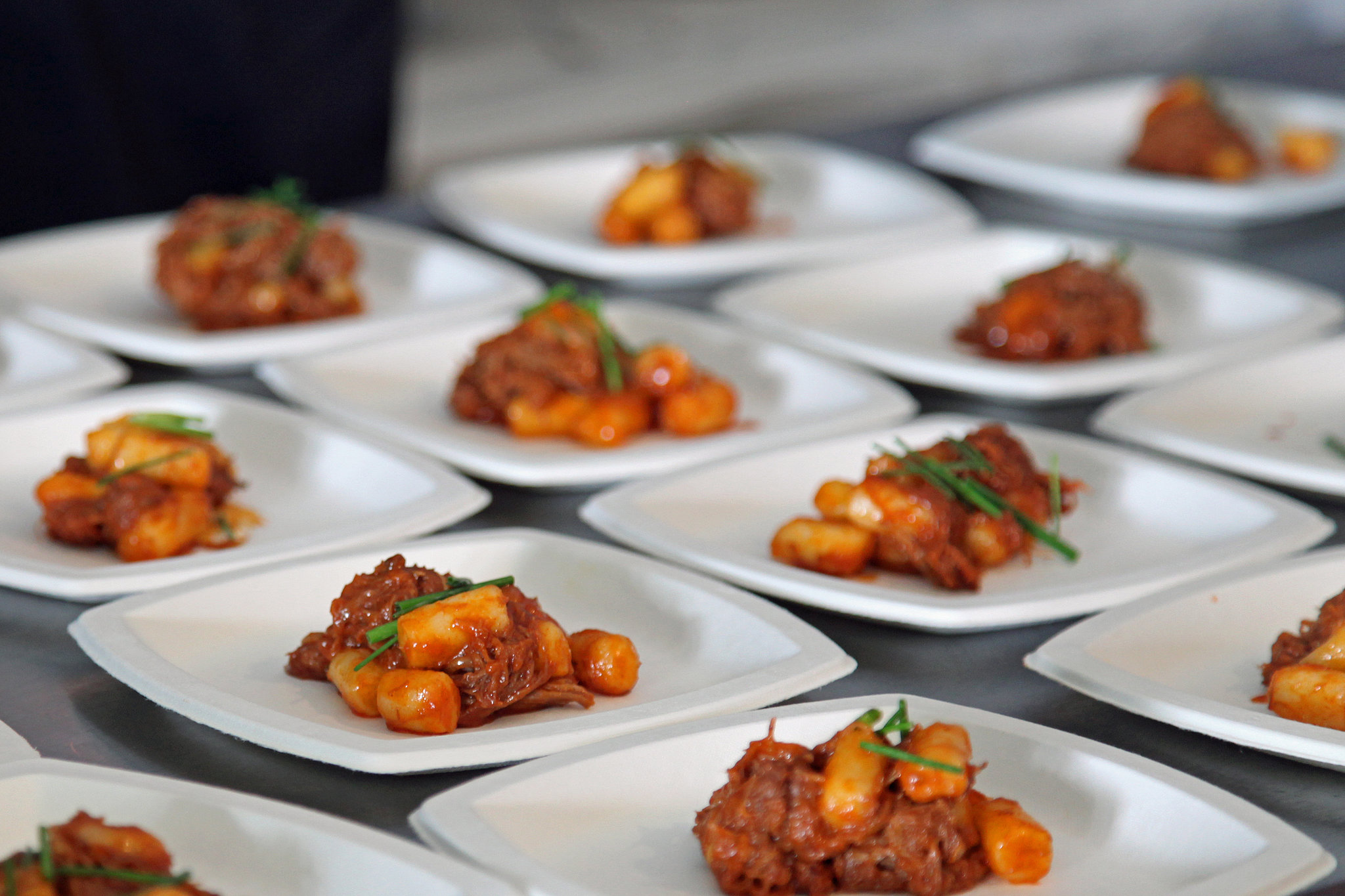 Korean Braised Goat and Dumplings