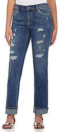 Two By Vince Camuto Distressed Boyfriend Jeans