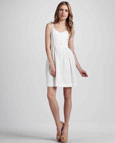 Amour Vert Jinny Eyelet Dress