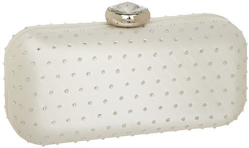 Nine West Bridal Collection Oval Minaudiere Clutch