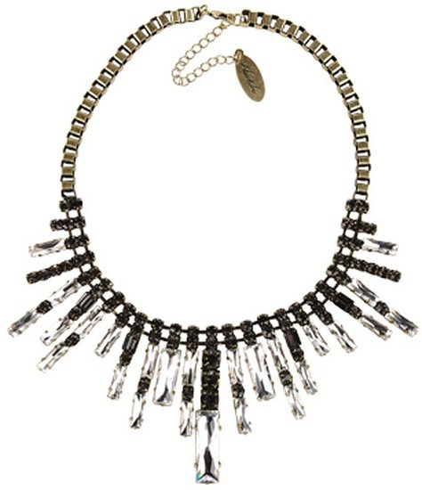 Adia Kibur Multi Shaped Crystal Necklace