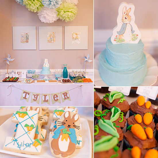 A Sweet Peter Rabbit First Birthday Party