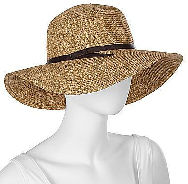 Paper Braid Floppy Hat