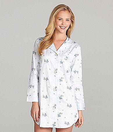 Lauren Ralph Lauren Winter Garden Woven Sleepshirt