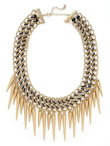 Gold Courtney Spike Bib