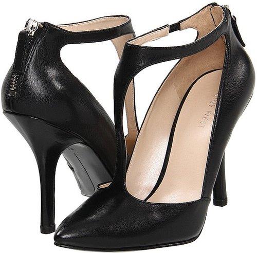 Nine West - Blonsky (Black Leather) - Footwear