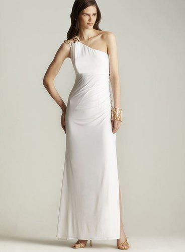 Hailey One-shoulder Open Back Gown