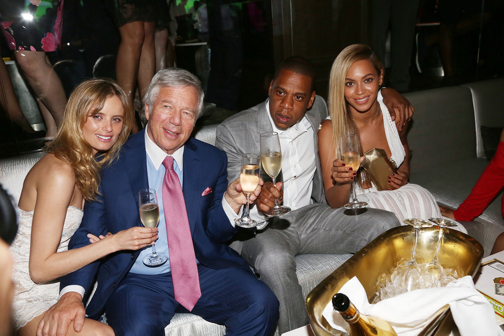Beyoncé and Jay-Z Break Out the Bubbly For a Special Anniversary