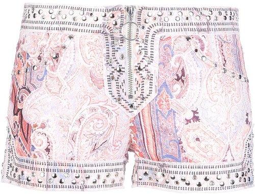Isabel Marant 'Jayson' studded shorts
