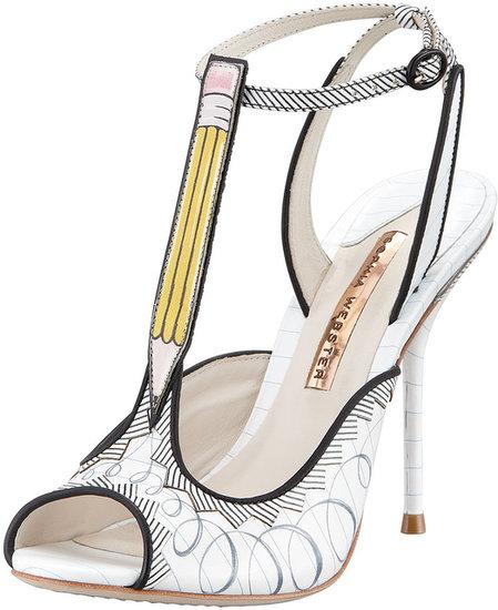 Sophia Webster Dixie Pencil T-Strap Sandal