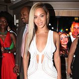 Celebrities in White Dresses for Summer 2013