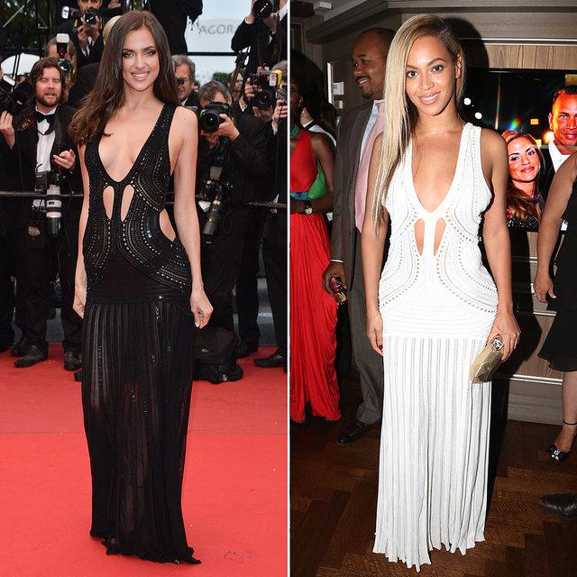 Who Wore it Best? Beyonce and Irina Shayk in Roberto Cavalli