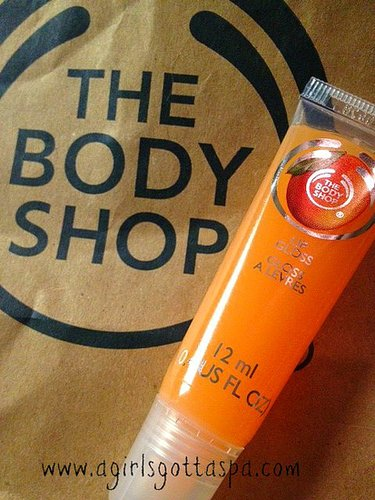 The Body Shop Lip Gloss Review
