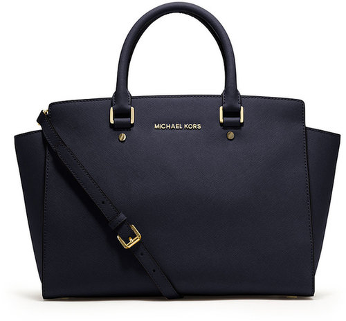 Michael Kors Large Selma Top-Zip Satchel