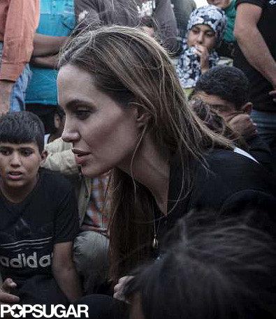 Angelina Jolie Marks World Refugee Day in Jordan