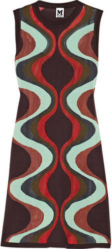 M Missoni Intarsia cotton-blend dress
