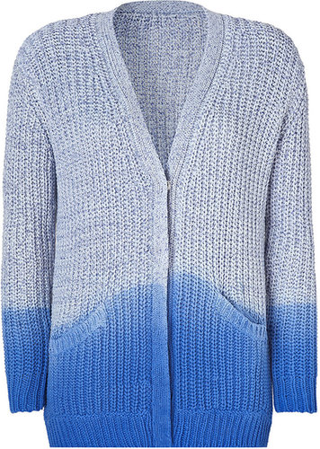 Sandro Blue Lagoon Cotton Cardigan