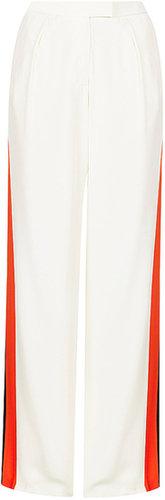 Side Stripe Wide Leg Trouser