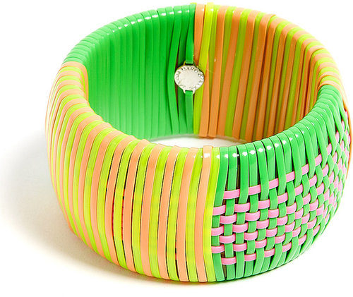 Marc by Marc Jacobs Wide Woven Bangle