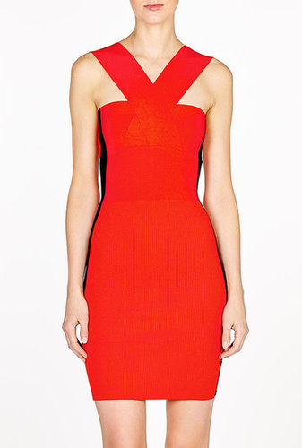 McQ Alexander McQueen Bandage Knit Dress