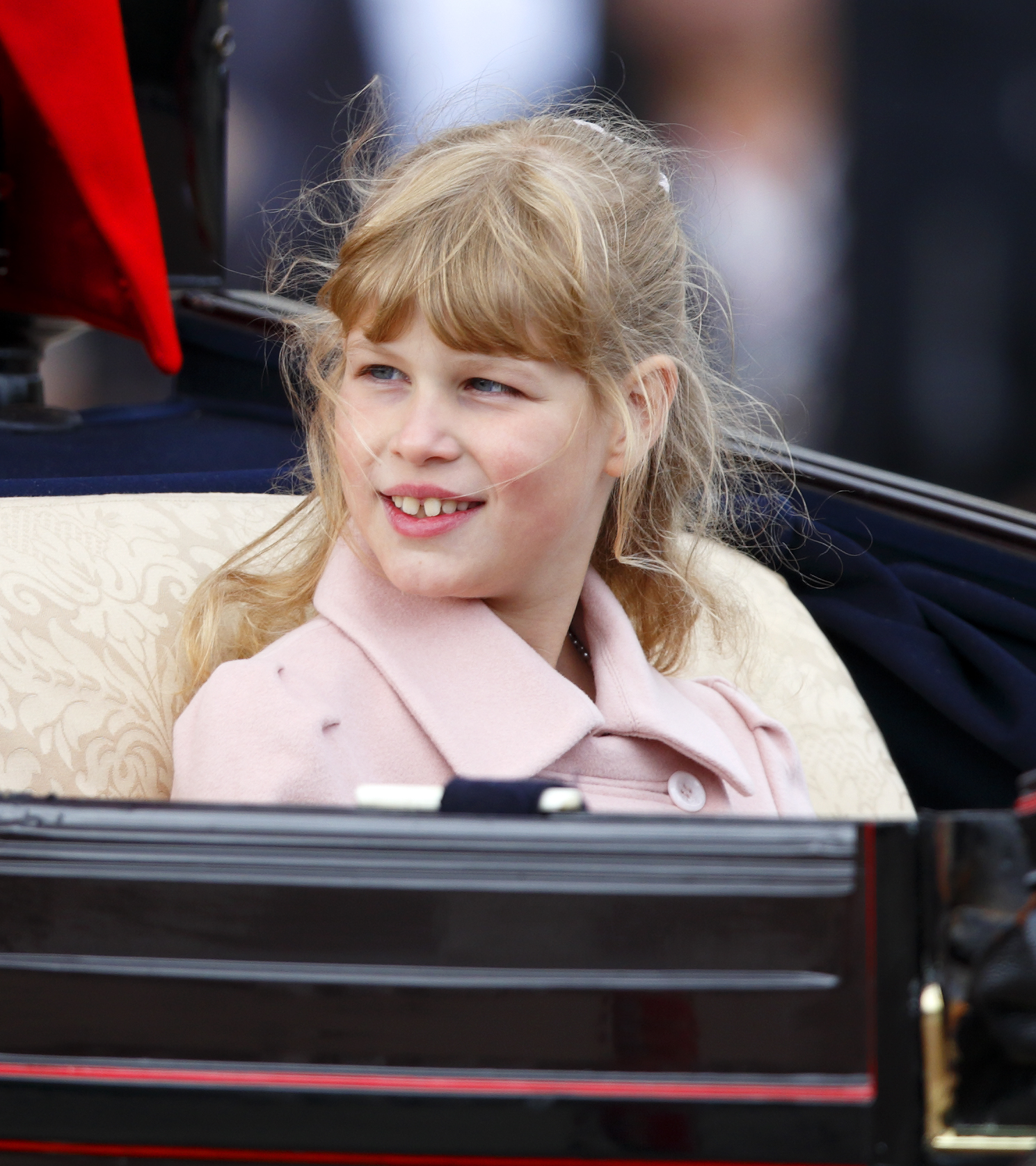 First Cousin Once Removed: Lady Louise Windsor