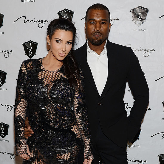 Kim Kardashian and Kanye West Baby Name Rumours