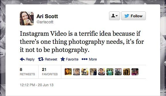 Photographer @ariscott wants to get back to the basics.