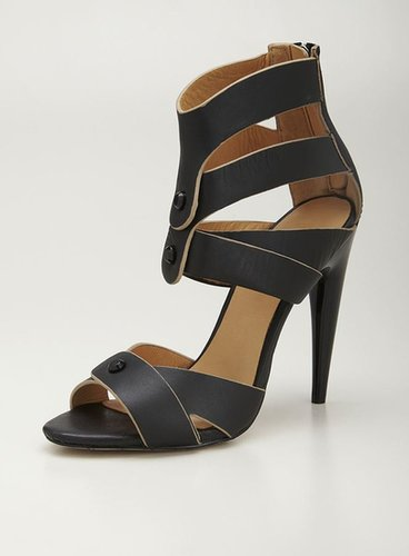L.A.M.B. Mirage High Heel Strappy Leather Sandal