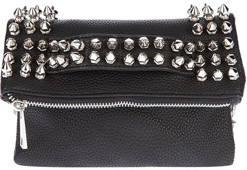 Mia Bag studded clutch bag