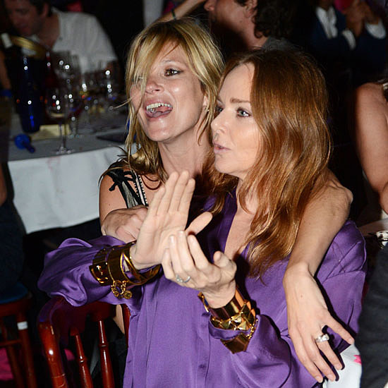 Kate Moss and Pals Frock Up for Rock On Benefit