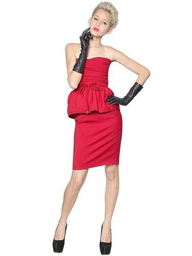 Capsule Stretch Wool Cady Dress