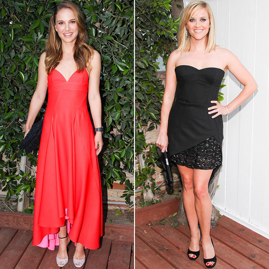 Natalie Portman Reese Witherspoon at LA Dance Project Gala