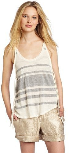 AG Adriano Goldschmied Women's Side-Tie Tank Top