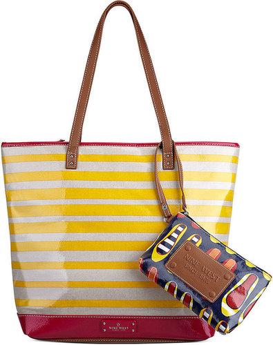 Nine West Handbag, Can't Stop Shopper Large Zip Tote