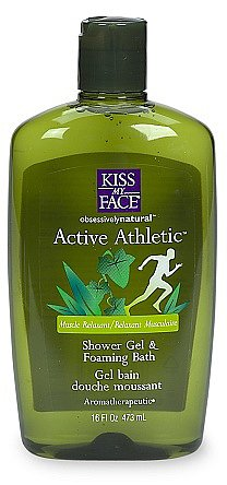 Kiss My Face Active Athletic Reviving Bath & Shower Gel Birch & Eucalyptus