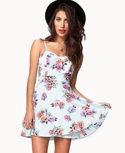 FOREVER 21 Floral A-Line Dress