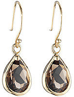 Lauren Sigman Gemstone Teardrop Earrings